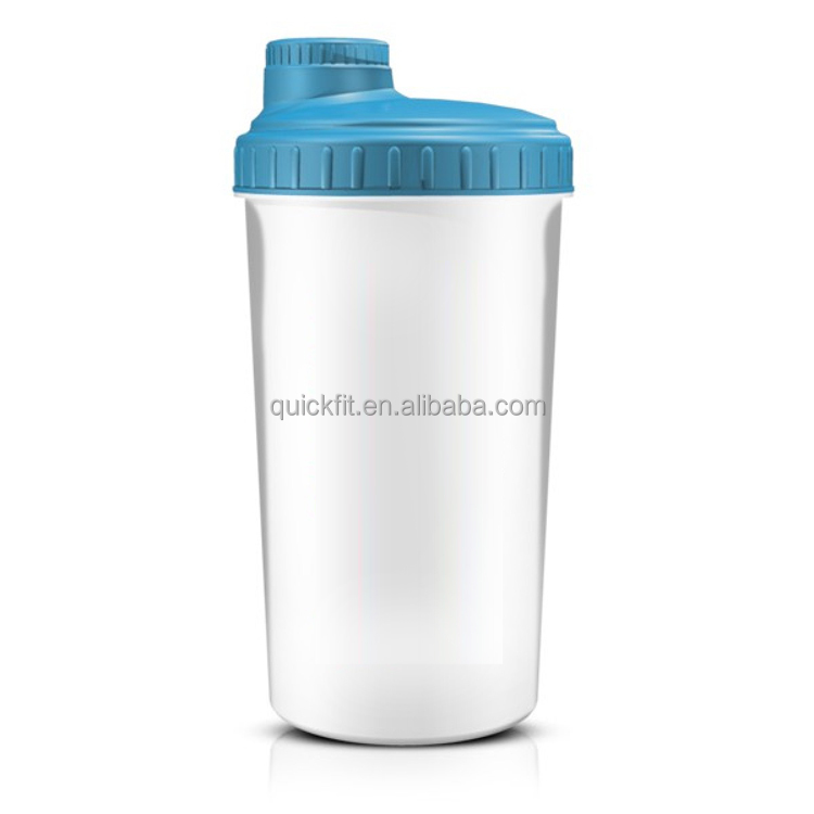 Unbreakable Plastic Protein Shaker Water Bottle Plastic Bottle BPA Free Factory Directly privater label shaker
