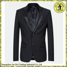 China designer wedding black suits for men 2013