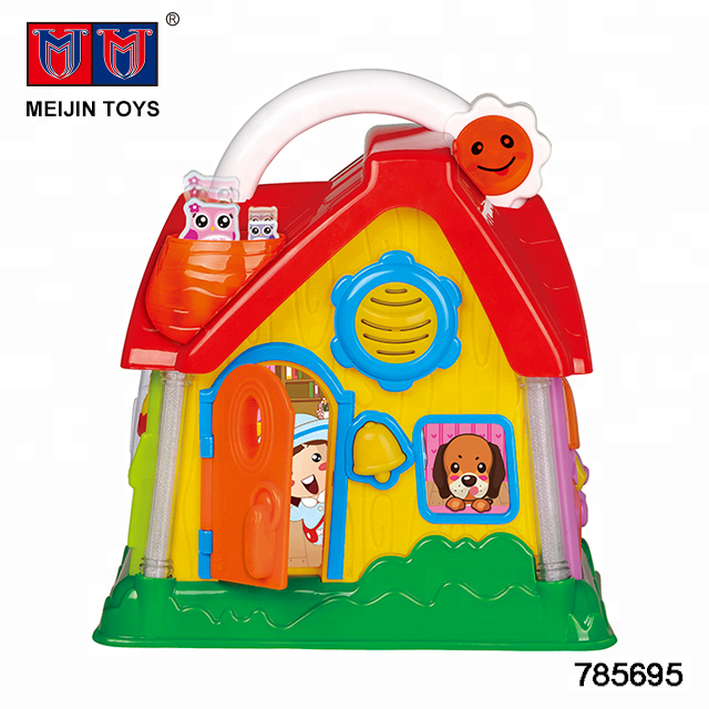 Multi-function educational living room toys for children with music