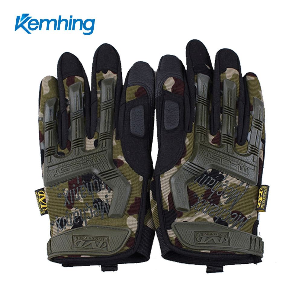 Hot Hunting Cycling gloves bike Outdoor Sports Full Finger Airsoft Military Tactical Gloves