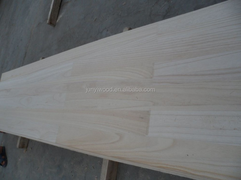 Paulownia fingerjointed edge glued panels
