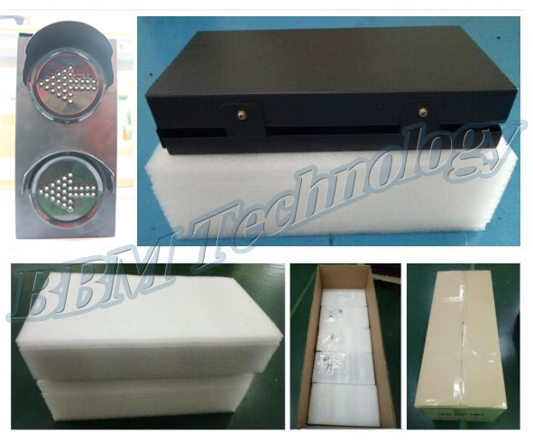 100mm left right arrow traffic directional light