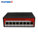 Unmanaged 8 Ports 10/100M RJ45 Din Rail Fast Ethernet Industrial Switch