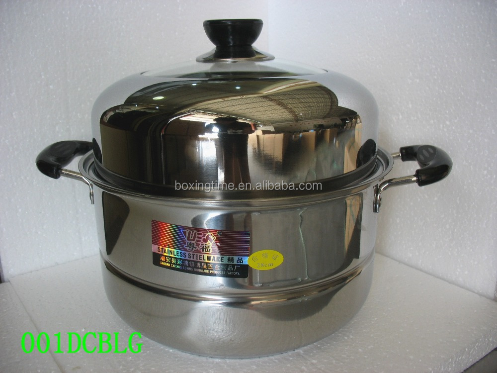 Stainless Steel One Layer Steamer Food Steamers Wholesale