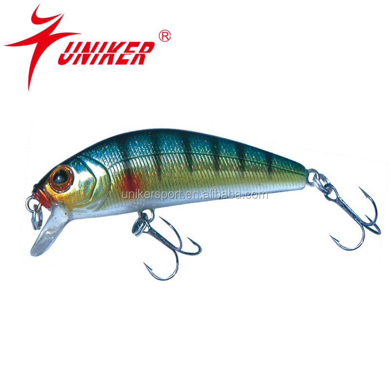 Custom color minnow lure artificial bait hard fishing lure for Personalized fishing lures