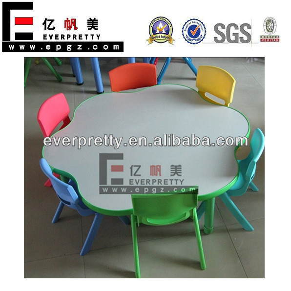 Nursery table and chair, used preschool furniture for sale