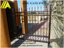 quality-assured strong custom-designed wrought iron grill gate design