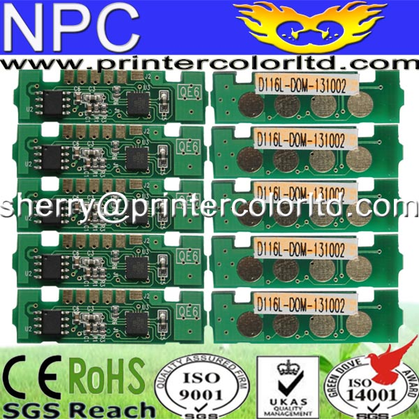 Compatible toner chip MLT D 116 S for Samsung SL M 2625 / 2626 / 2825 / 2826 / 2675 / 2875 / 2876 / 2676 N / 2676 FH / 28 chip