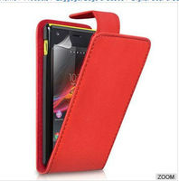 Laudtec High Quality Flip Leather Pouch Case for Sony Xperial M C1905 Mobile Phone Bags