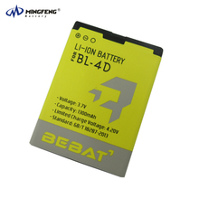 3.7v 1300mAh Low Price Original Battery , Rechargeable Li-ion Battery BL-4D for Nokia N97mini N8 E5 E7 702T T7-00 T7 N5 808