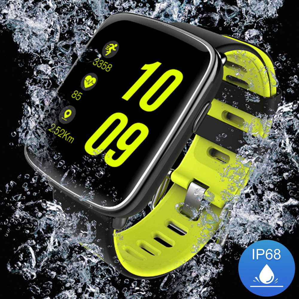 GV68 Smart Watch Waterproof Ip68 Heart Rate Monitor Bluetooth Smartwatch Swimming with Replaceable Straps for IOS <strong>Android</strong> <strong>Phone</strong>