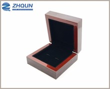 Wholesale Factory Custom Made 1 2 3 Slot Display Storage Wood Cufflink Box