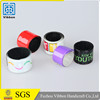 Funny silicone wristband colorful slap wristband for events