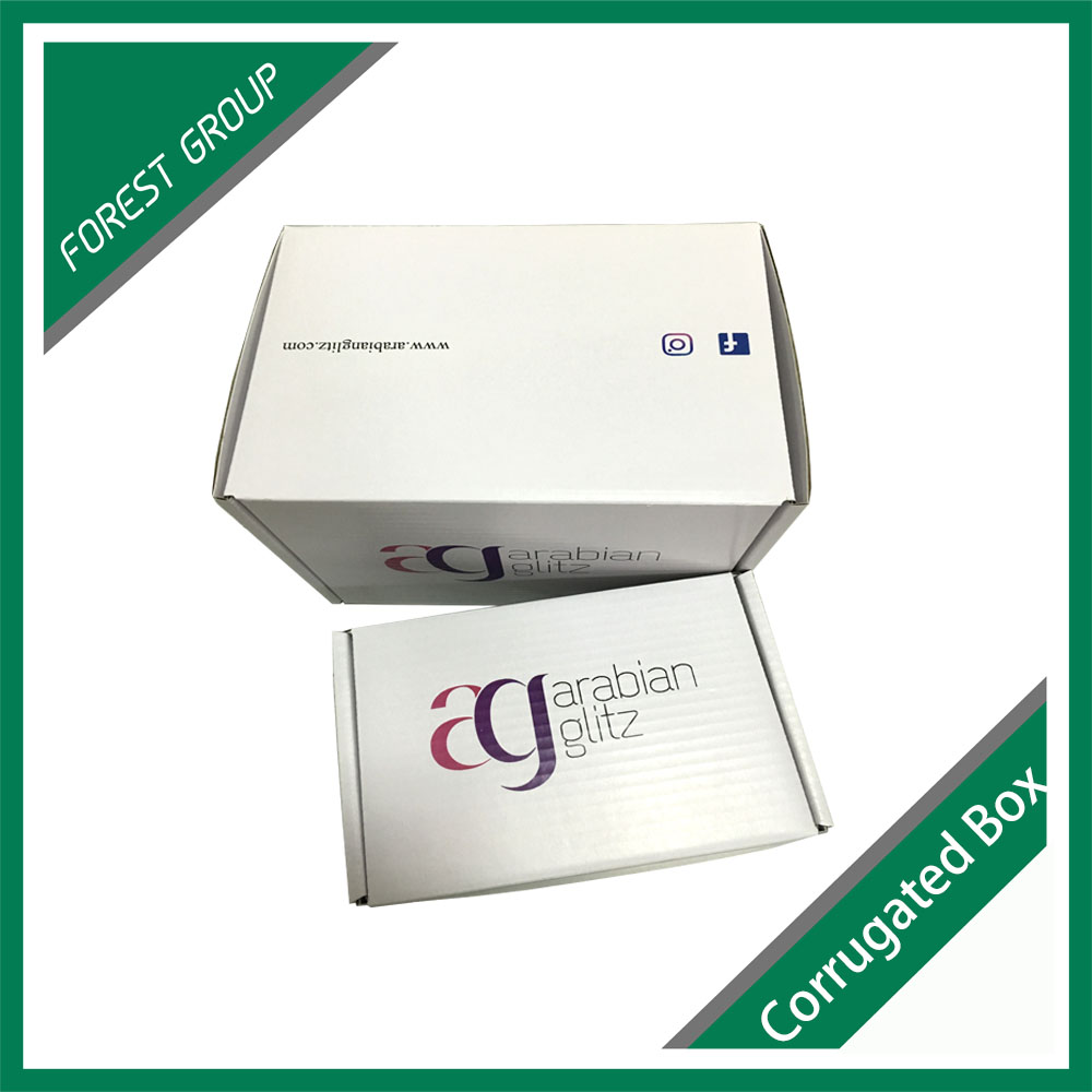 Environmental friendly embossed cardboard boxes with wholesale price