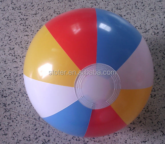 Top quality Custom Wholesale Inflatable PVC Beach Ball