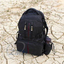 Fashion Digital Backpack Camera Bag for Canon EOS DSLR SLR Camera with Waterproof Cover