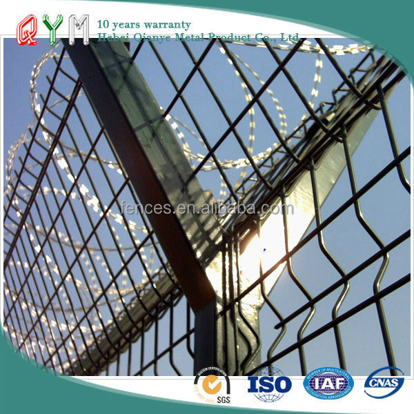 PVC coated wire mesh sheet, airport fence