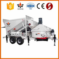 MB Mobile Ready-Mixed Concrete Batching Plant, contruction equipment