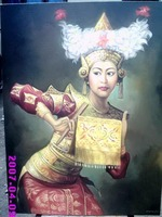 Bali Dancer Painting