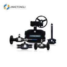 JKTL2W044 Gas Ball Valve with Welded Body and Gear Operated