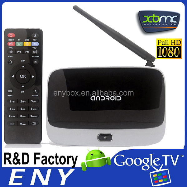 Android TV Box Quad Core Smart TV Receiver Webcam Microphone RK3188T 1G/8G HD AV USB RJ45 WiFi Mini Android4.4 TV Box