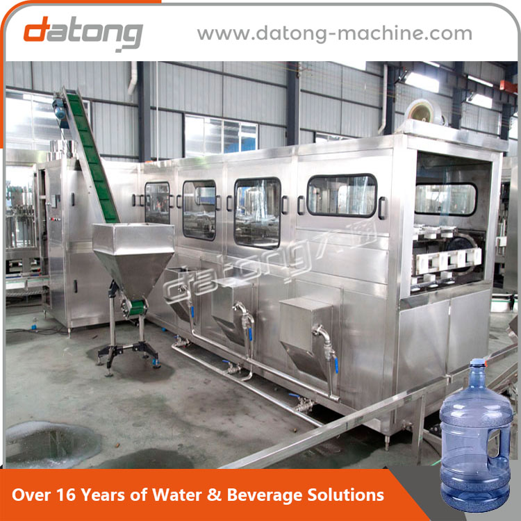 high quality 20liter 5 gallon bottle washer machine With Long-term Service