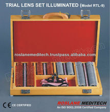 Trial Lens Set Illuminated / Optical instrument