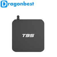 2016 hot sale T95 Kodi 16.0 Dual WIFI 2.4GHz/5.0GHz Ott Tv Box Shipping Fast