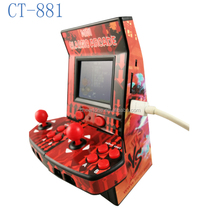 2017 Hottest 8 bit classical arcade games console,support two players
