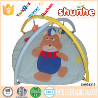 Wholesale soft zoo design for fun baby play gym mat