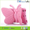Kids 3D Cartoon Butterfly case for tablet, Shockproof Cover with Stand for kids