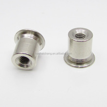 Electric heater high precision metal M4 crown nuts