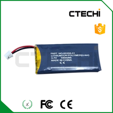Wireless headset CS50 replace battery li-polymer battery 65358-01