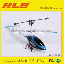 3.5CH hot sale rc indoor alloy metal rc helicopter cx-007