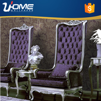 Uhome Korean Design Wallpaper Deep Embossed Wallpaper