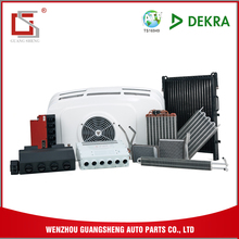 GUANGSHENG Shipping From China Electrical Car Spare Parts Heater Core For Toyota Corolla