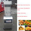 kfc deep frying broasted chicken machine/fried deep machine with exhaust hood(CE, manufacturer)