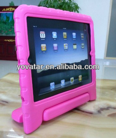 Shockproof Cute Stand Protable EVA Foam Cover For iPad