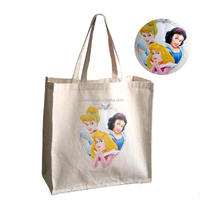 100% Recycled natural cotton bag Cotton tote bag for promotion