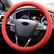 Eco-friendly soft silicone steering wheel cover