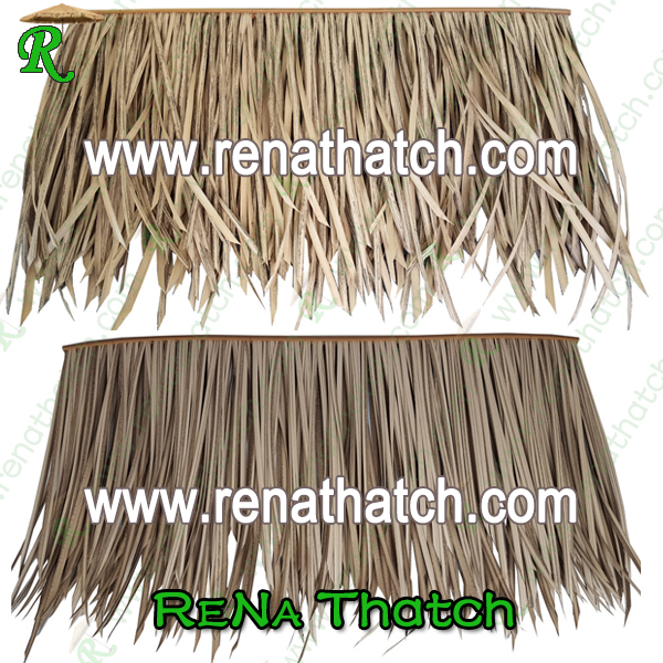 plastic synthetic straw thatch roof