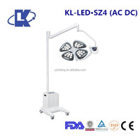 (AC/DC) mobile LED cold source shadowless operation light ambulance surgical lamp