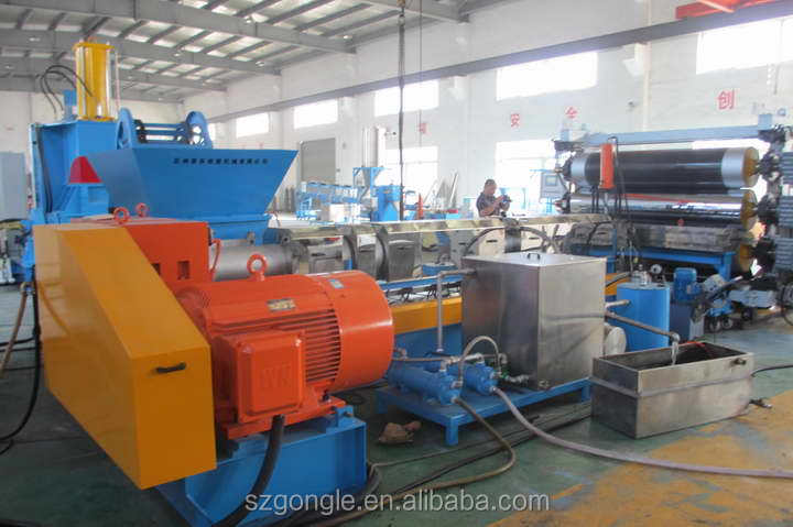 hdpe plastic sheet extrusion line