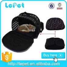Custom logo Comfort travel soft sided cat carrier small cat carrier pet carriers for cats