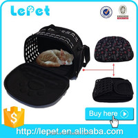 Wholesale Custom logo soft sided cat carrier small cat carrier pet carriers for cats