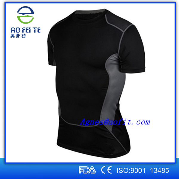 2017 Wholesale fitness super hero t shirts with dri fit fabric Detective Comics gym tees