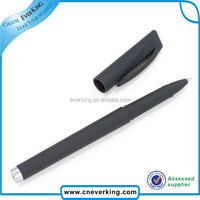 factory wholesale plastic pen with metal clip giveaway gift