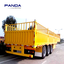 Panda Tri-axle fence stake semi trailer for live sheep transport for sale