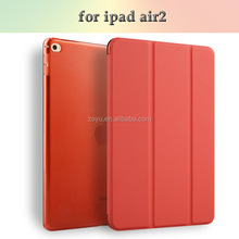 2017 Hot New Products Flip Cover Case For iPad Air Back Cover Case For iPad Air2