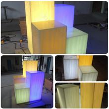 artificial stone solid surface sheet/ translucent sheet light box